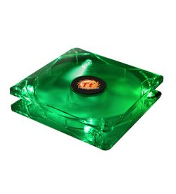 Thunderblade 80 mm LED - Green | Fans | SiliconBlue Corporation Ltd.