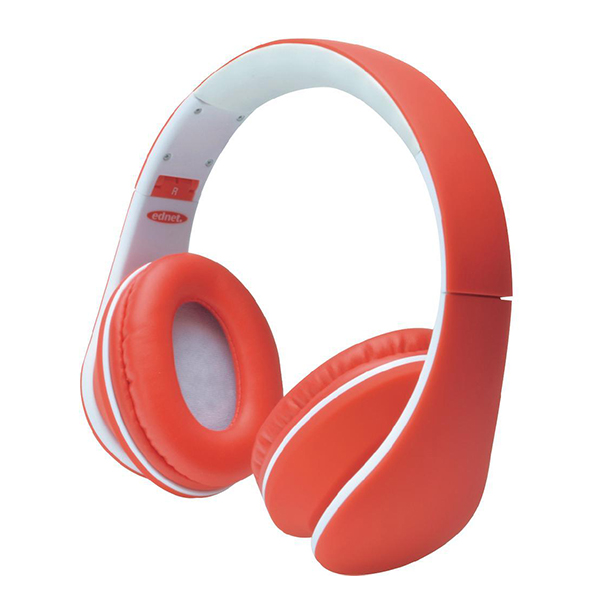 HeadBang headphone, red/white