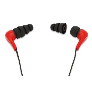 ZIPPER Earphones, Red | Headset | SiliconBlue Corporation Ltd.