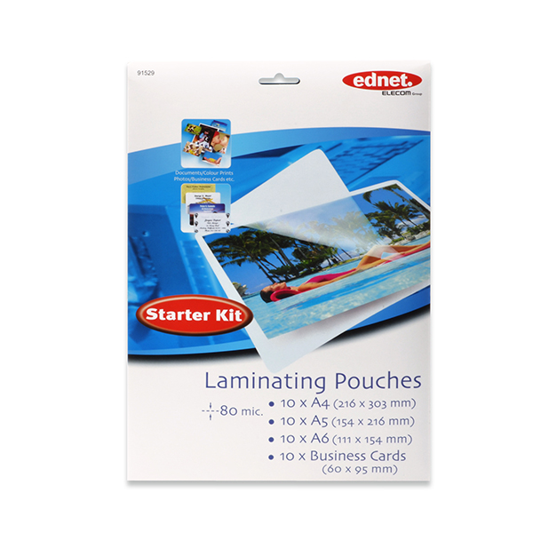 Laminating pouches - Starter Kit