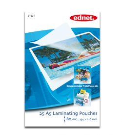 A5 laminating pouches 125 mic, 25 pcs | Laminating | SiliconBlue Corporation Ltd.
