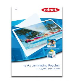 A3 laminating pouches 125 mic, 12 pcs | Laminating | SiliconBlue Corporation Ltd.
