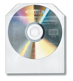 100 CD/DVD Protective Sleeves