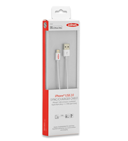 Apple Dock Charger / Data Cable, Apple 30 pin - USB A | Cables | SiliconBlue Corporation Ltd.