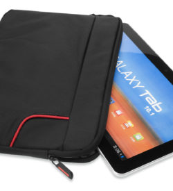"Tablet Sleeve, 10.2"", jacquard, super-fiber, black"