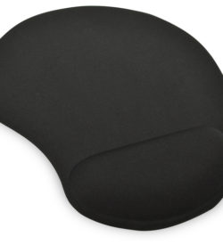 Ednet GEL mouse pad, black | Mousepads | SiliconBlue Corporation Ltd.