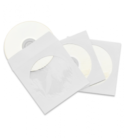 CD/DVD paper sleeves