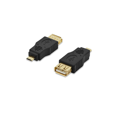 USB adapter, type micro B - A, M/F, USB 2.0 conform | Converter | SiliconBlue Corporation Ltd.