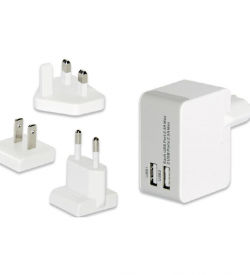 Universal USB Travel Charger Adapter Set | Chargers | SiliconBlue Corporation Ltd.