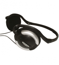 Neck Headset Travel, Foldable Headphone