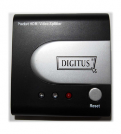 DIGITUS HDMI Pocket Video Splitter 2-Port, 25-225Mhz, resolution up to 1080p w/o power supply | Video Hardware | SiliconBlue Corporation Ltd.