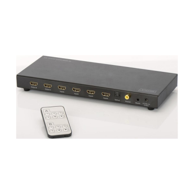 4K HDMI Matrix Switch 4x2, Supports 4K,2K,3D video formats, Incl. Remote Control, black.  | Video Hardware | SiliconBlue Corporation Ltd.